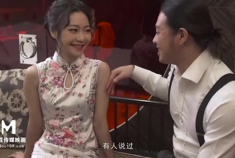 國産AV國風旗袍初登場冷豔美人的情趣遊戲 新人女優蘇清歌